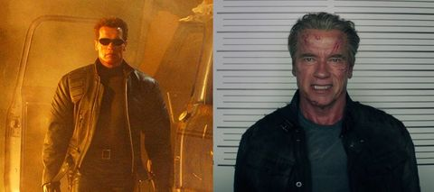 Terminator 3 Rise of the Machine and Genisys Arnold Schwarzenegger