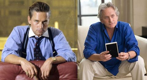 Wall Street and Money Never Sleeps Michael Douglas