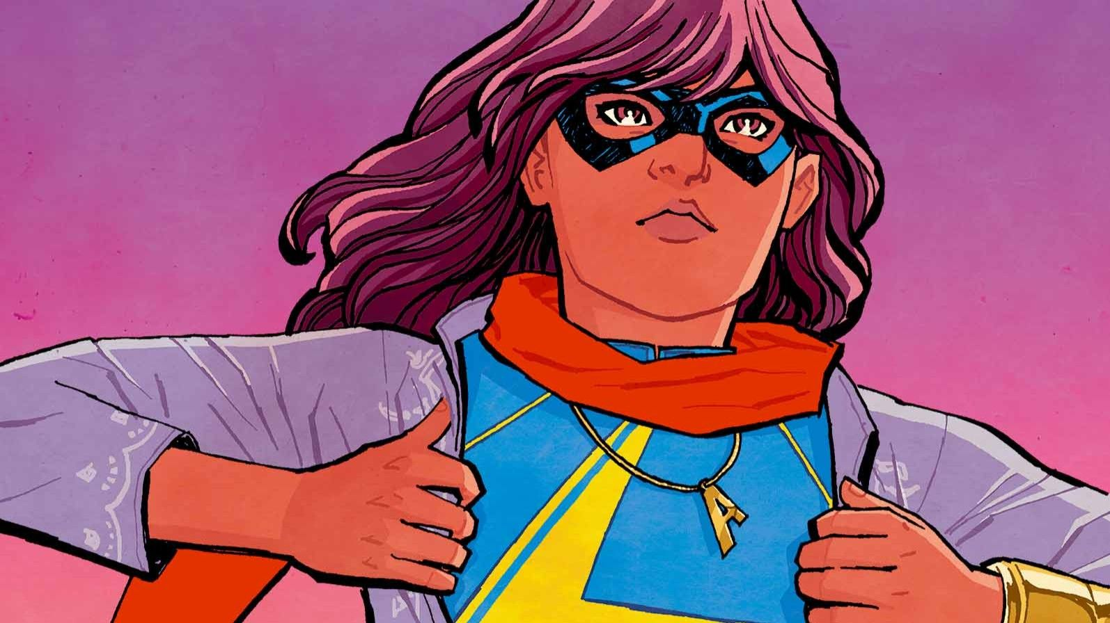 Ms Marvel series with Muslim hero Kamala Khan is coming, and will tie into the MCU