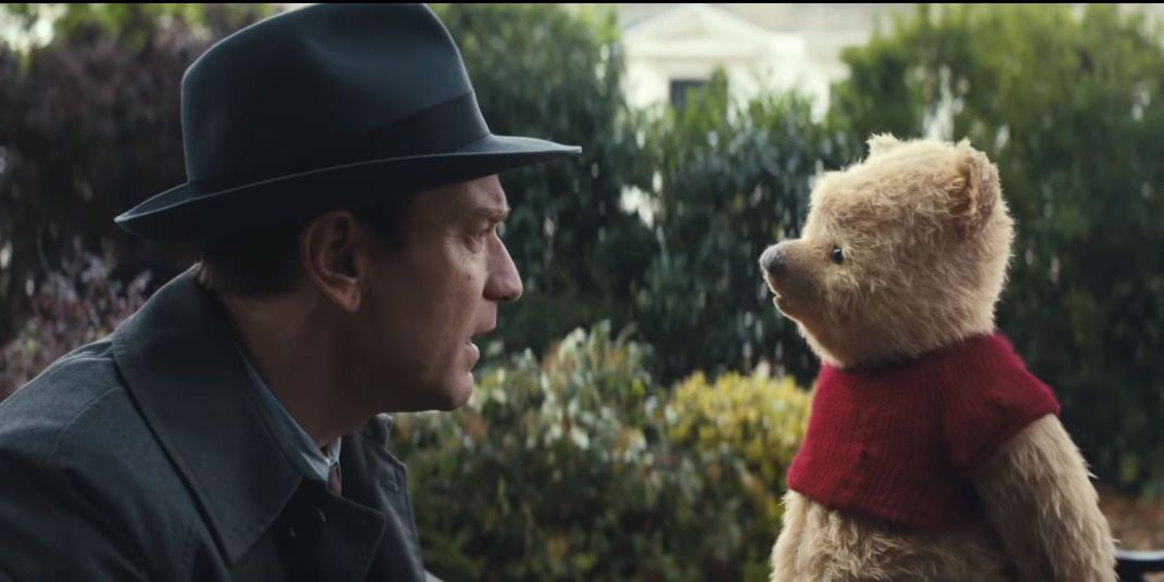 Christopher Robin trailer screengrab