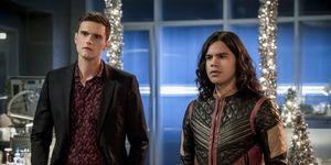 Ralph and Cisco in The Flash season 4