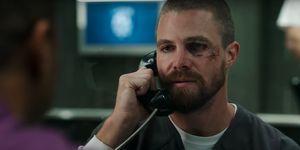 Oliver Queen in Arrow season 7