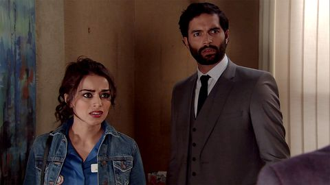 Rana Nazir is made to feel unwelcome by her family in Coronation Street
