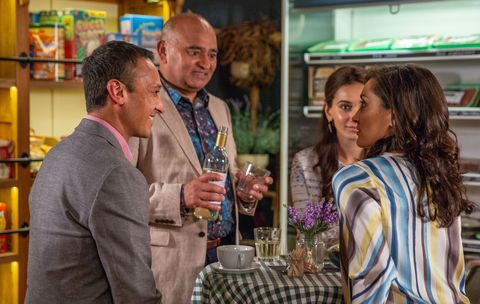 Jai Sharma gets coerced into another date in Emmerdale