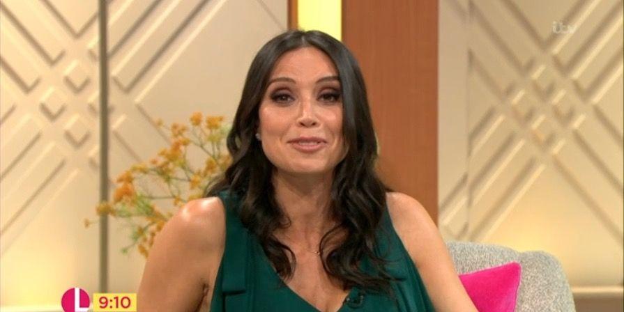 Lorraine presenter Christine Lampard unveils her naturally curly hair
