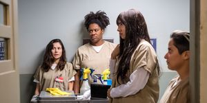 Orange Is The New Black Wedding.Orange Is The New Black Stars Open Up About Season 6 S Surprise