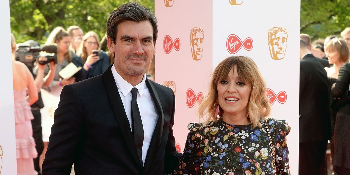 Emmerdale's real-life couple Jeff Hordley and Zoe Henry are tending to their allotment in lockdown