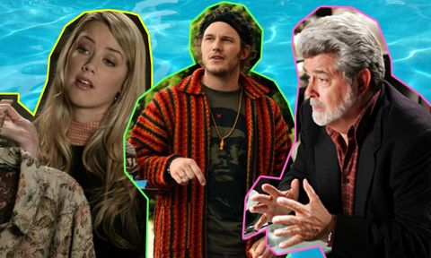 The OC composite - Amber Heard, Chris Pratt, George Lucas
