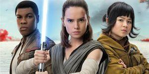 Star Wars The Last Jedi Finn Rey Rose