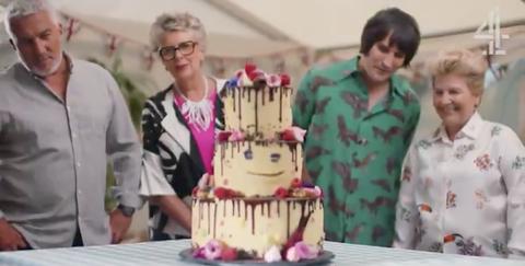 Great British Bake Off 2018: Paul Hollywood, Prue Leith, Noel Fielding, Sandi Toksvig