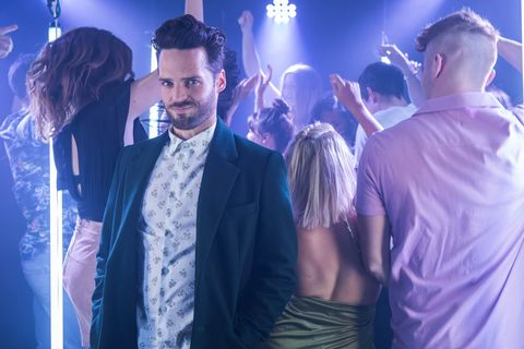 Hollyoaks' new Liam Donovan ( STRICT EMBARGO 00.01 FRIDAY AUGUST 2)