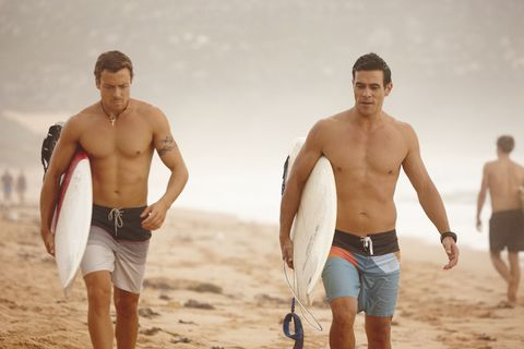 Dean Thompson and Justin Morgan talk about Willow in Home and Away