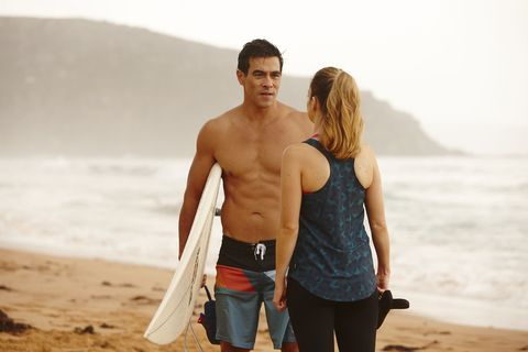 Justin Morgan confides in Tori in Home and Away