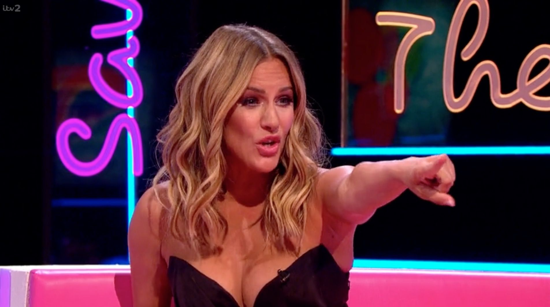 Love Island's Caroline Flack gets into a feud with Jameela Jamil over her new plastic surgery show
