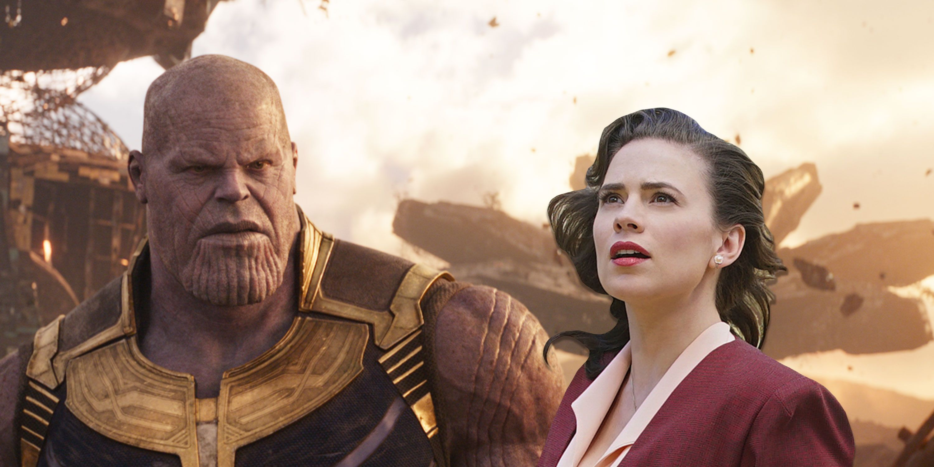 Photoshop, Josh Brolin, Hayley Atwell, Thanos, Marvel's Agent Carter