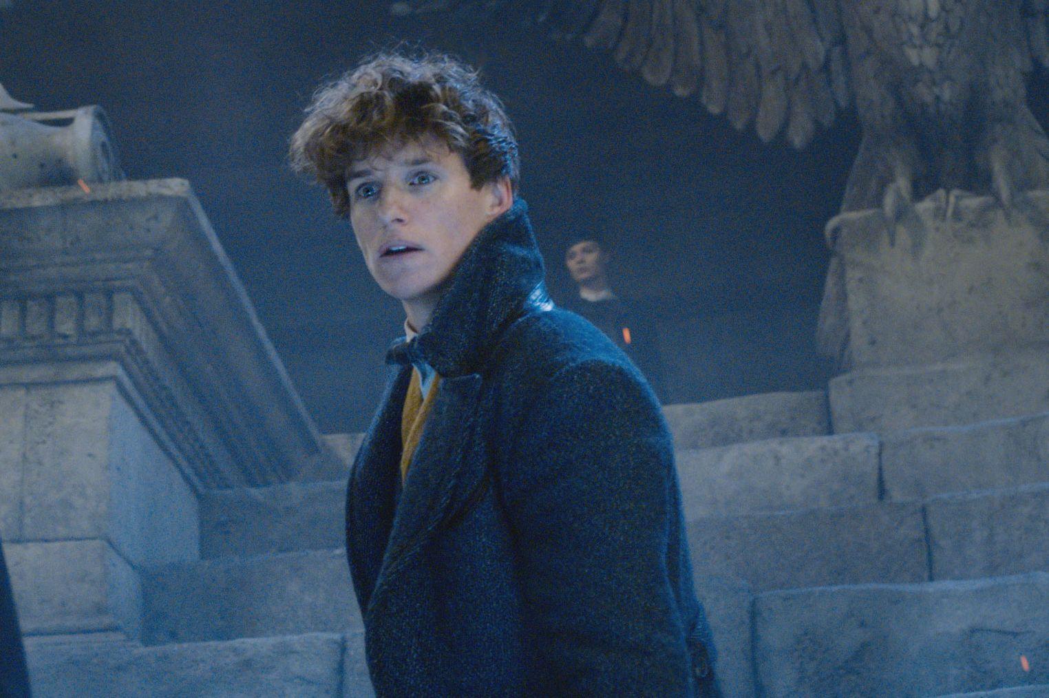 Eddie Redmayne, Callum Turner, Theseus Scamander, Newt Scamander, Fantastic Beasts: The Crimes of Grindelwald