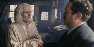 Dan Fogler, Brontis Jodorowsky, Nicolas Flamel, Jacob Kowalski, Fantastic Beasts: The Crimes of Grindelwald