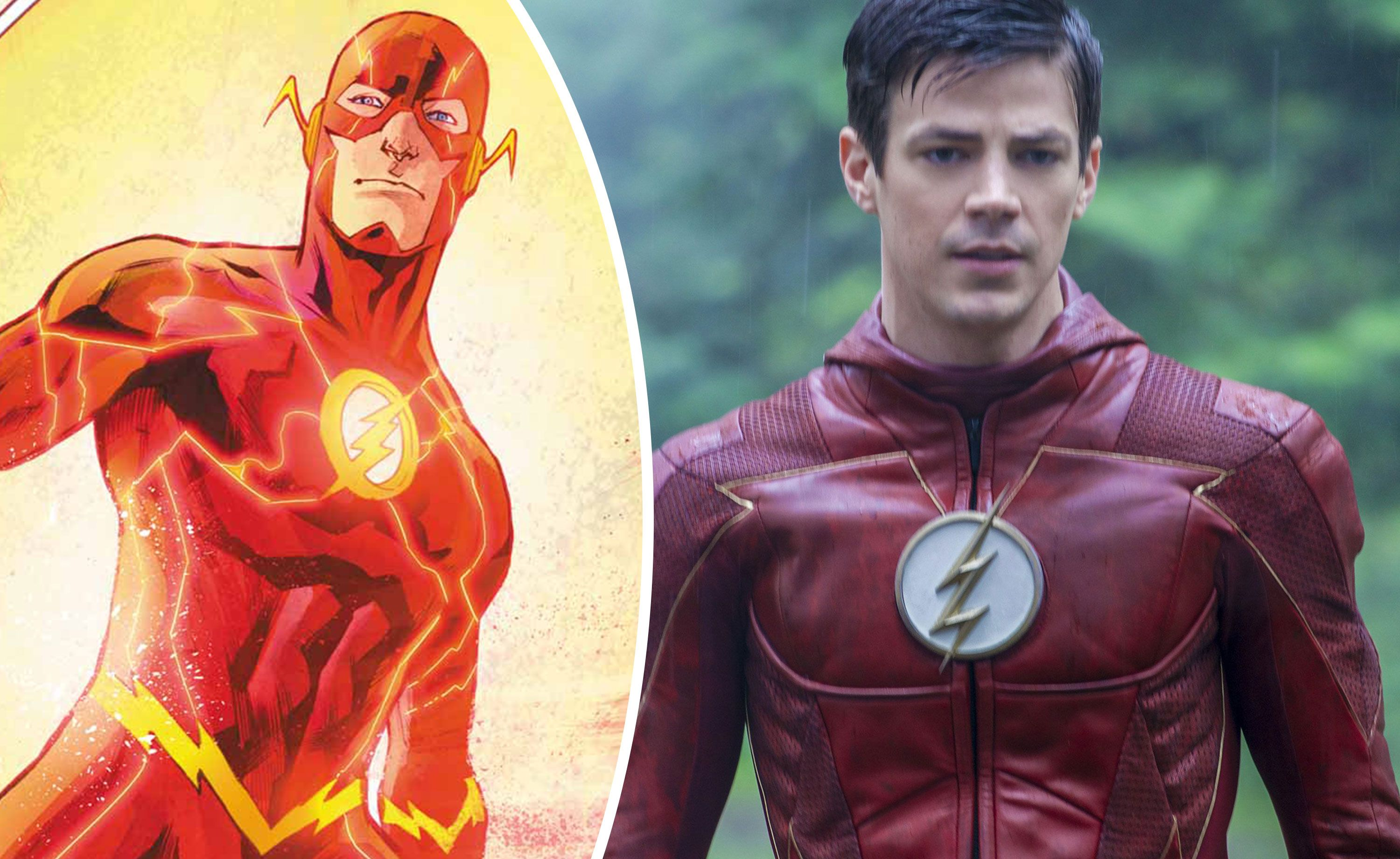 The Flash S Grant Gustin Hits Back At Body Shamers Over Season 5 Costume