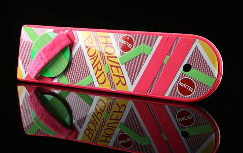 Prop Store Live Auction Back to the Future II Marty McFly Michael J Fox Hoverboard