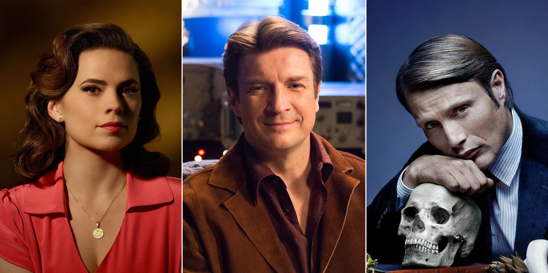 Agent Carter, FireFly, Hannibal