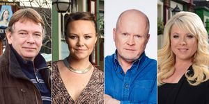 Ian Beale, Janine Butcher, Phil Mitchell Sharon Watts, Eastenders, Future Kate Oates