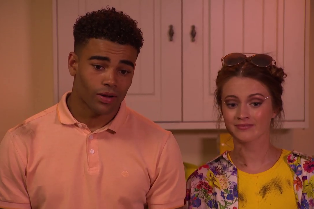 Prince and Lily McQueen in Hollyoaks