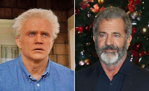 Mel Gibson in Forever Young and at the UK Premiere of 'Daddy's Home 2', 2018
