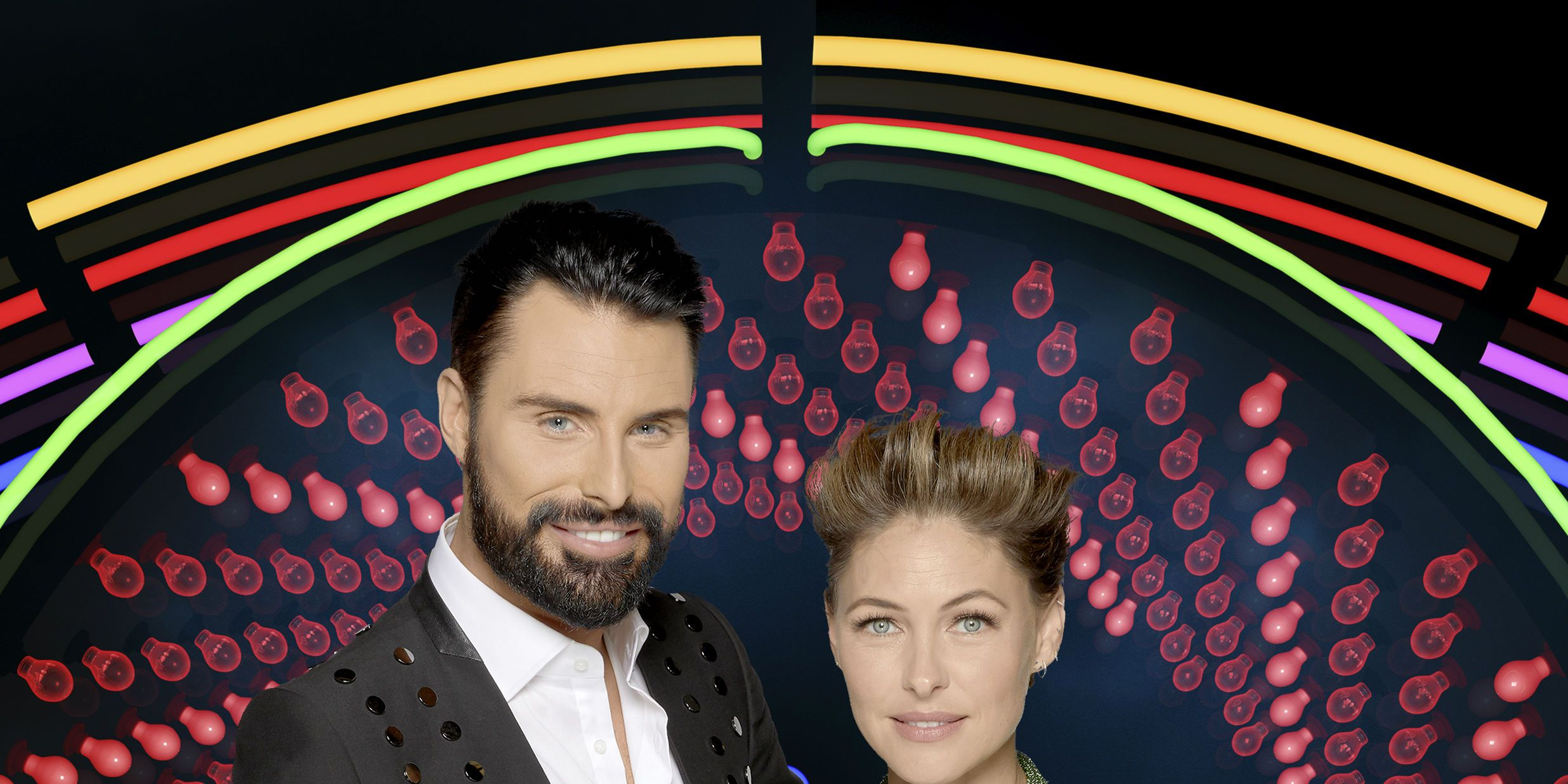 Celebrity Big Brother: Rylan Clark-Neal and Emma Willis