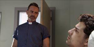 Billy Mayhew visits Josh Tucker again in Coronation Street