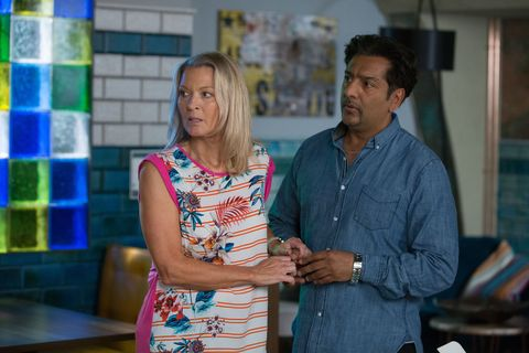 Kathy Beale and Masood Ahmed's chemistry in EastEnders