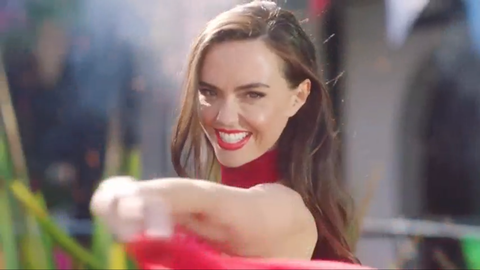 Mercedes McQueen in the new Hollyoaks titles