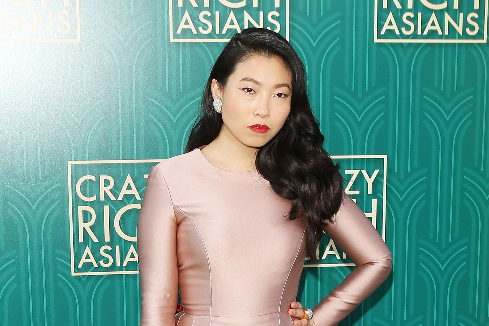 Awkwafina at the Crazy Rich Asians Los Angeles Premiere, August 2018
