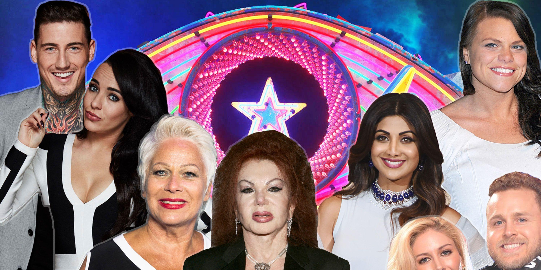 Jackie Stallone, Heidi and Spencer, Jade Goody, Shilpa Shetty, Stephanie Davis, Jeremy McConnell, Denise welch, Celebrity Big Brother, 2018