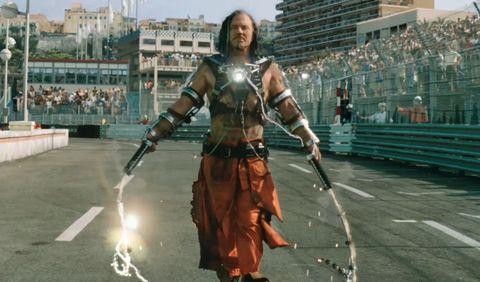 Ivan Vanko as Whiplash in Iron Man 2