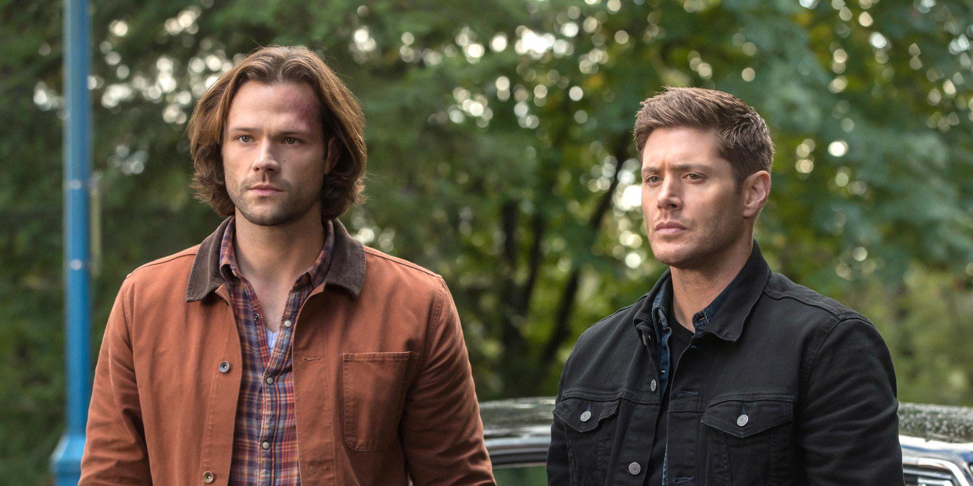 Sam and Dean in Supernatural