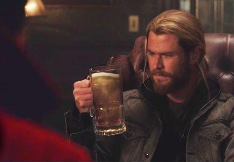 Thor Chris Hemsworth in Doctor Strange end credits