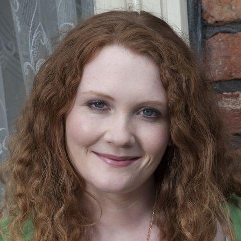 Jennie McAlpine as Fiz Stape in Coronation Street