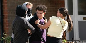 Simon Barlow is targeted by thugs and Kate Connor comes to the rescue in Coronation Street