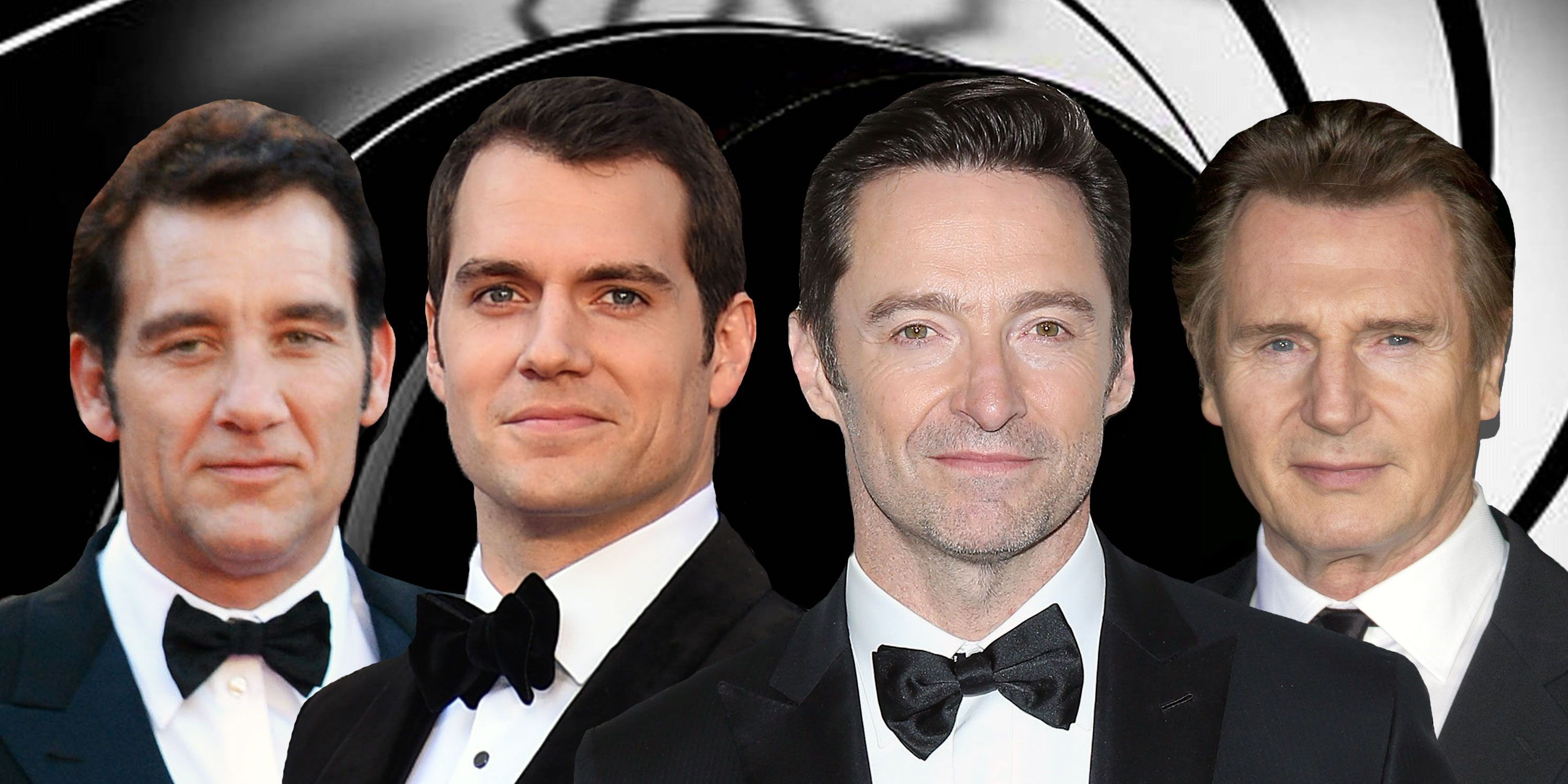 Clive Owen, Henry Cavill, Liam Neeson, Hugh Jackman, James Bond, Considered for the role