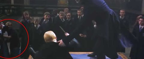 harry potter and the chamber of secrets visible cameraman