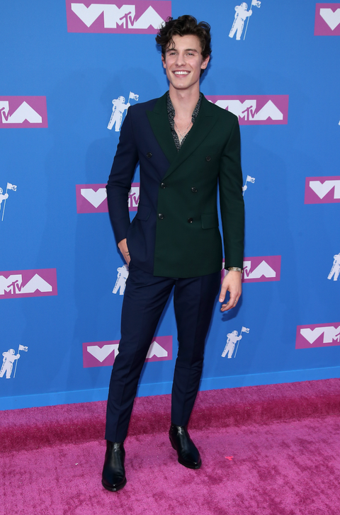 Shawn Mendes attends the 2018 MTV Video Music Awards