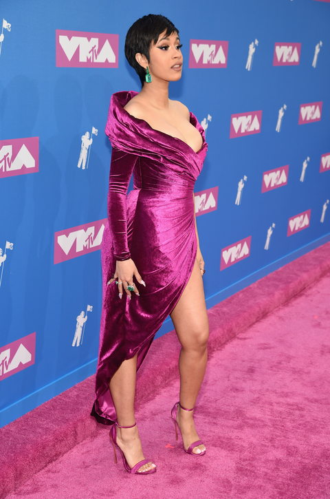 Cardi B attends the 2018 MTV Video Music Awards at Radio City Music Hall