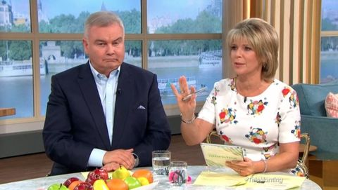 This Morning's Ruth Langsford threw dinner at husband Eamonn over disappointing Christmas present