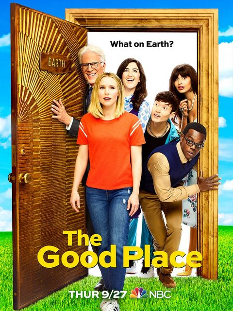 Watch The Good Place season 3 opening scene right now