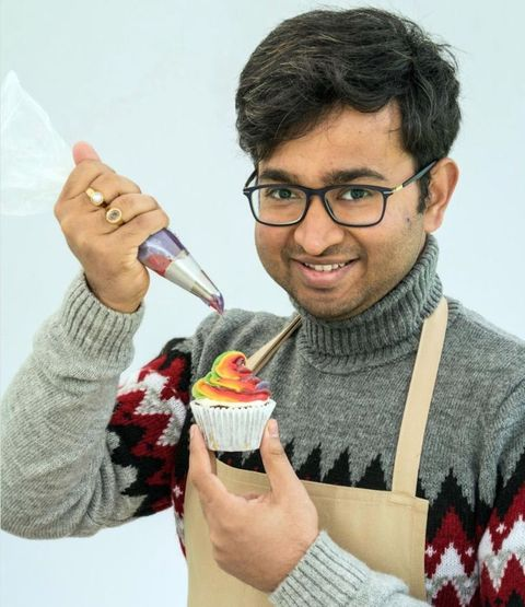 Rahul, Great British Bake Off 2018