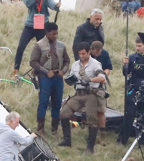 NO REUSE, EMBARGOED TILL 5PM 24/08/2018, Star Wars, Episode 9 Filming Pics (Paid For)