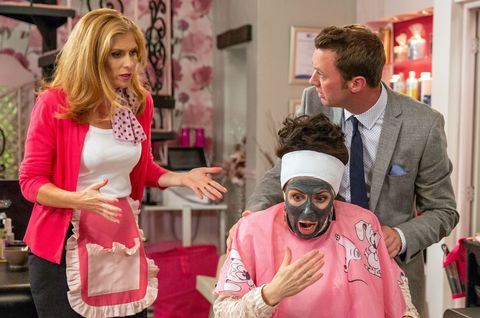 Dr Cavanagh helps Bernice Blackstock after she messes up with Faith Dingle in Emmerdale