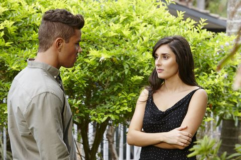 Mason Morgan gets a baby bombshell from Dempsey in Home and Away