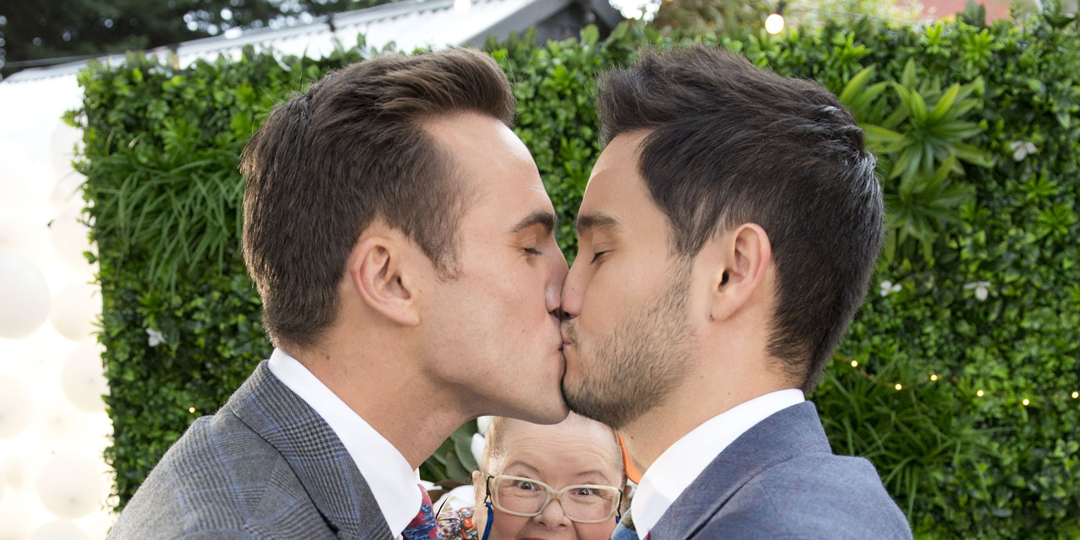 David Tanaka and Aaron Brennan's wedding in Neighbours