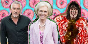 Paul Hollywood, Mary Berry, Noel Fielding, Great British Bake Off